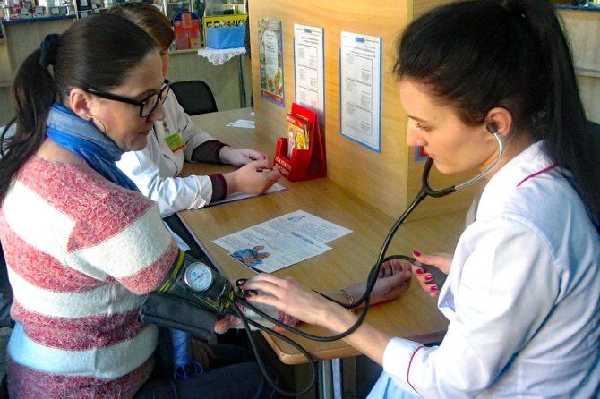 Более 40 человек приняли участие в акции «Цифры здоровья: артериальное давление»