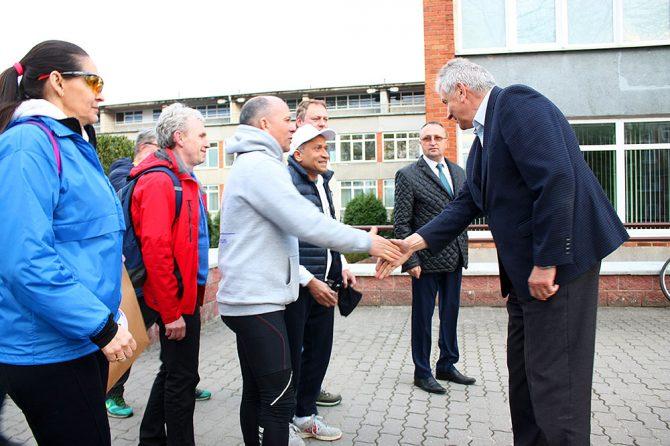 Участники велопробега BIKE4SDGs 2018 посетили Свислочскую ЦРБ
