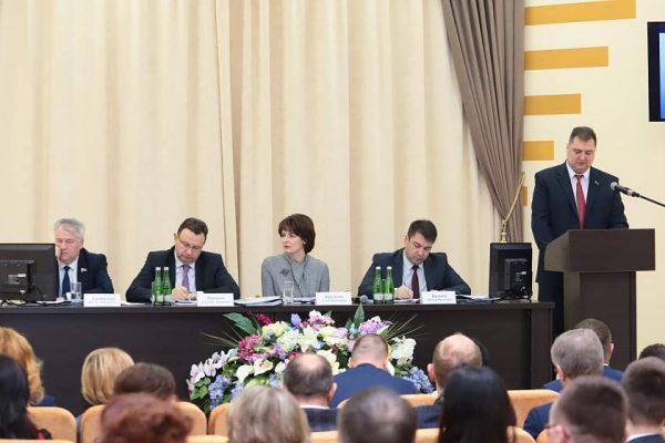 Качество, доступность и экспорт медицинских услуг на Гродненщине обсудили на итоговой коллегии главного управления здравоохранения